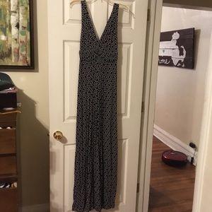 Tart Dresses - Black and White Maxi Dress!